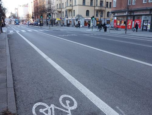 Ny cykelbana