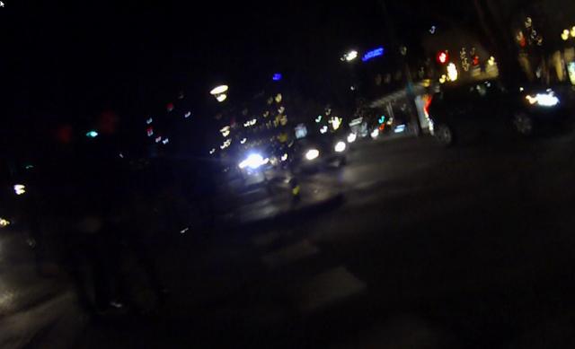 Bländad av bilister