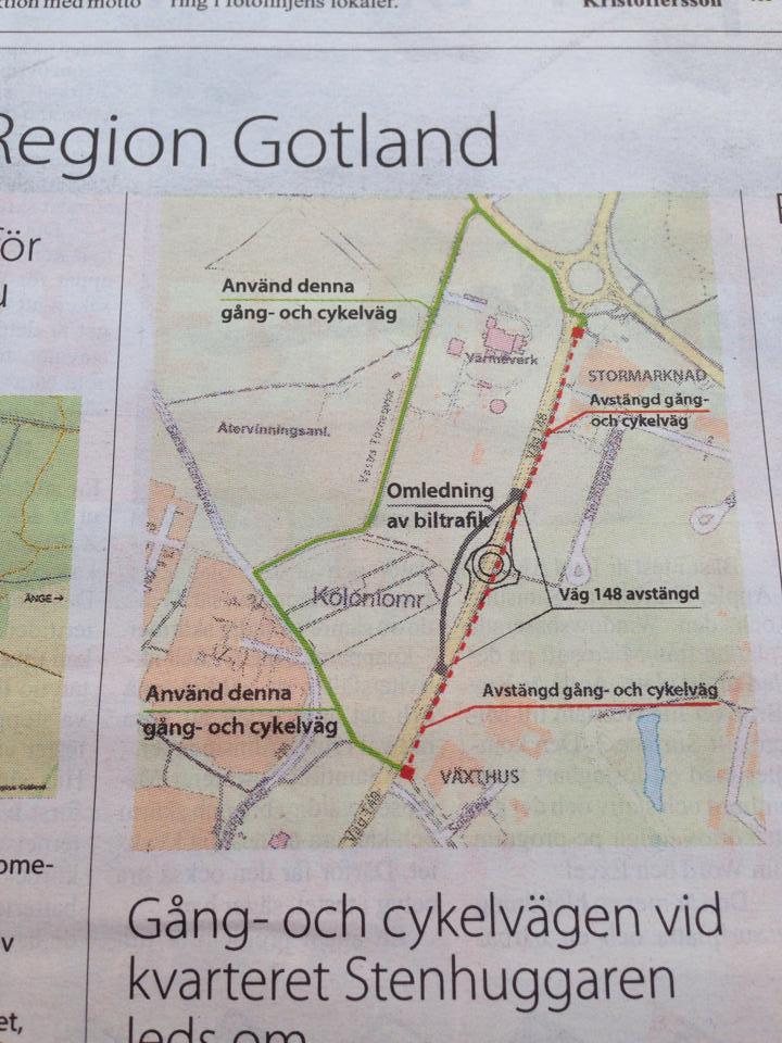 Region Gotland omledning