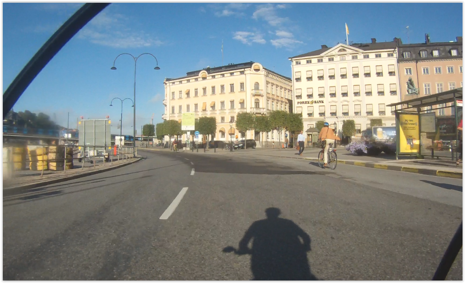 Munkbroleden på cykel