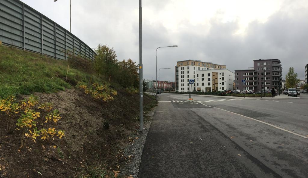 Kanalvägen pendlingsstråk 013 Jordvall