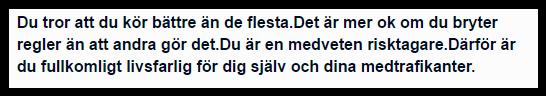 Helsingborgs Dagblad du kör bättre än andra