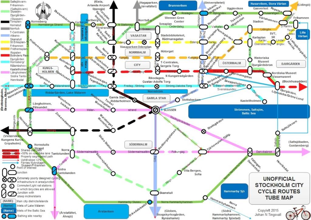 Tunnelbanekarta. Ilustration: Johan Tingsvall
