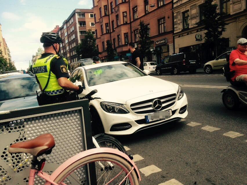 Polisen i gatan