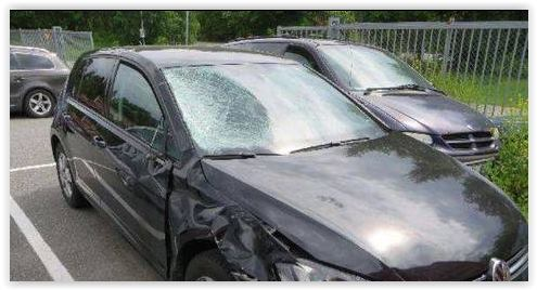 Så här såg bilen ut