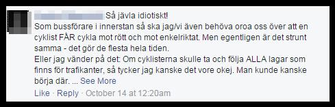 Sur för cyklistprio 3