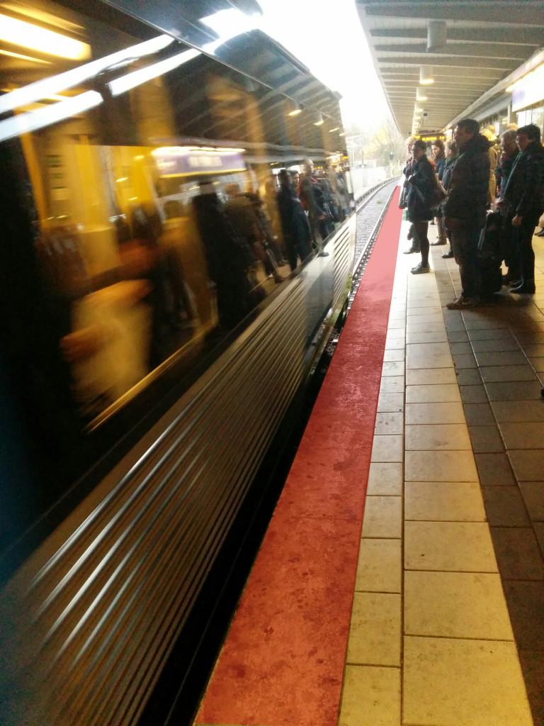 Spring i tunnelbanan