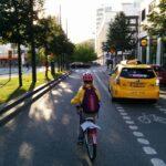 Cykelbanor kan göra det lättare att köra bil.