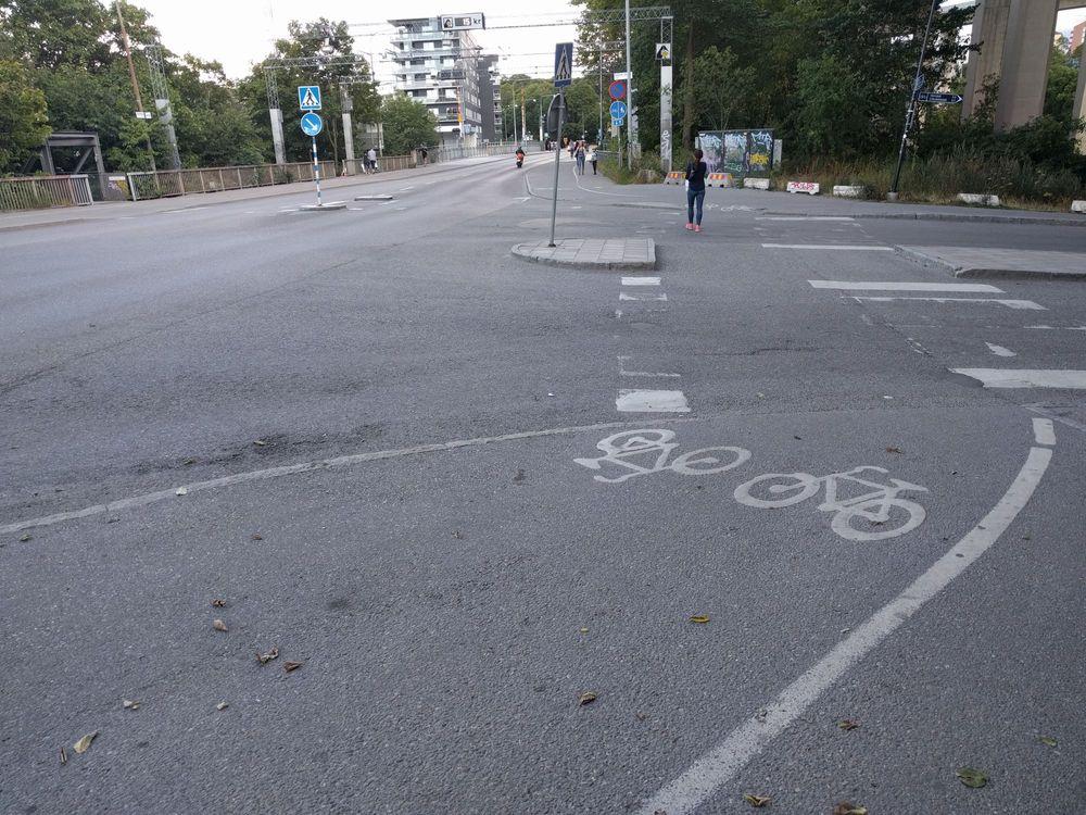 Varför är det en dålig idé att ta bort cykelpassagerna?