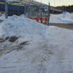 Felanmäl grinden till Huddinge