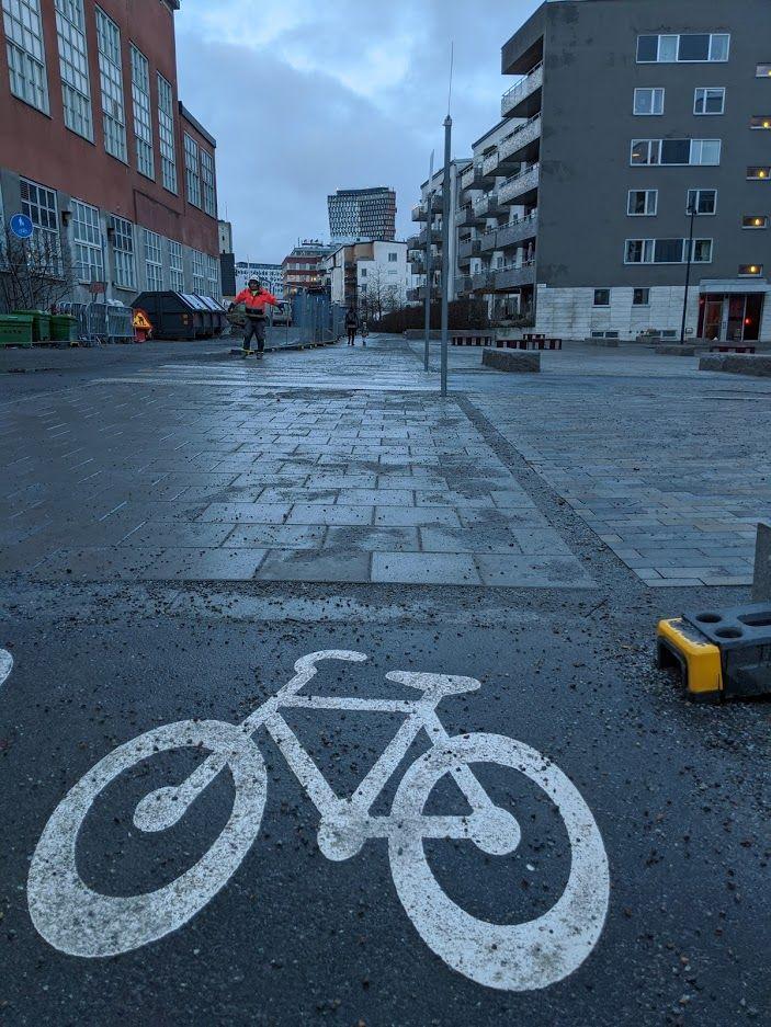Därför behöver vi regler för hur en cykelbana får se ut