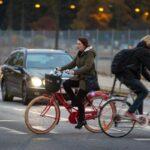 Trafikverket cykelguidar i Malmö