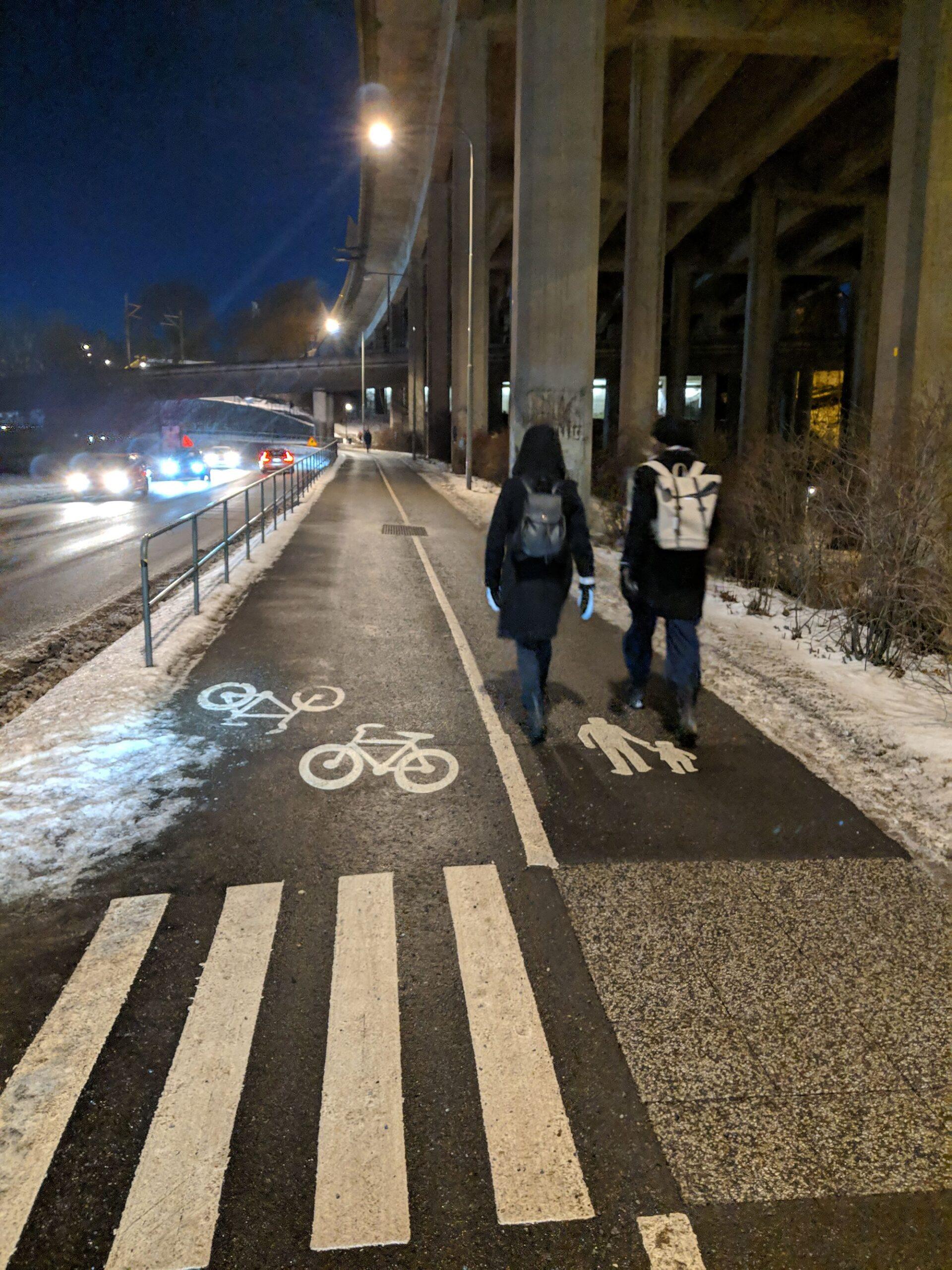 """""""Skyll inte den dåliga snöröjningen på cyklisterna"""""""