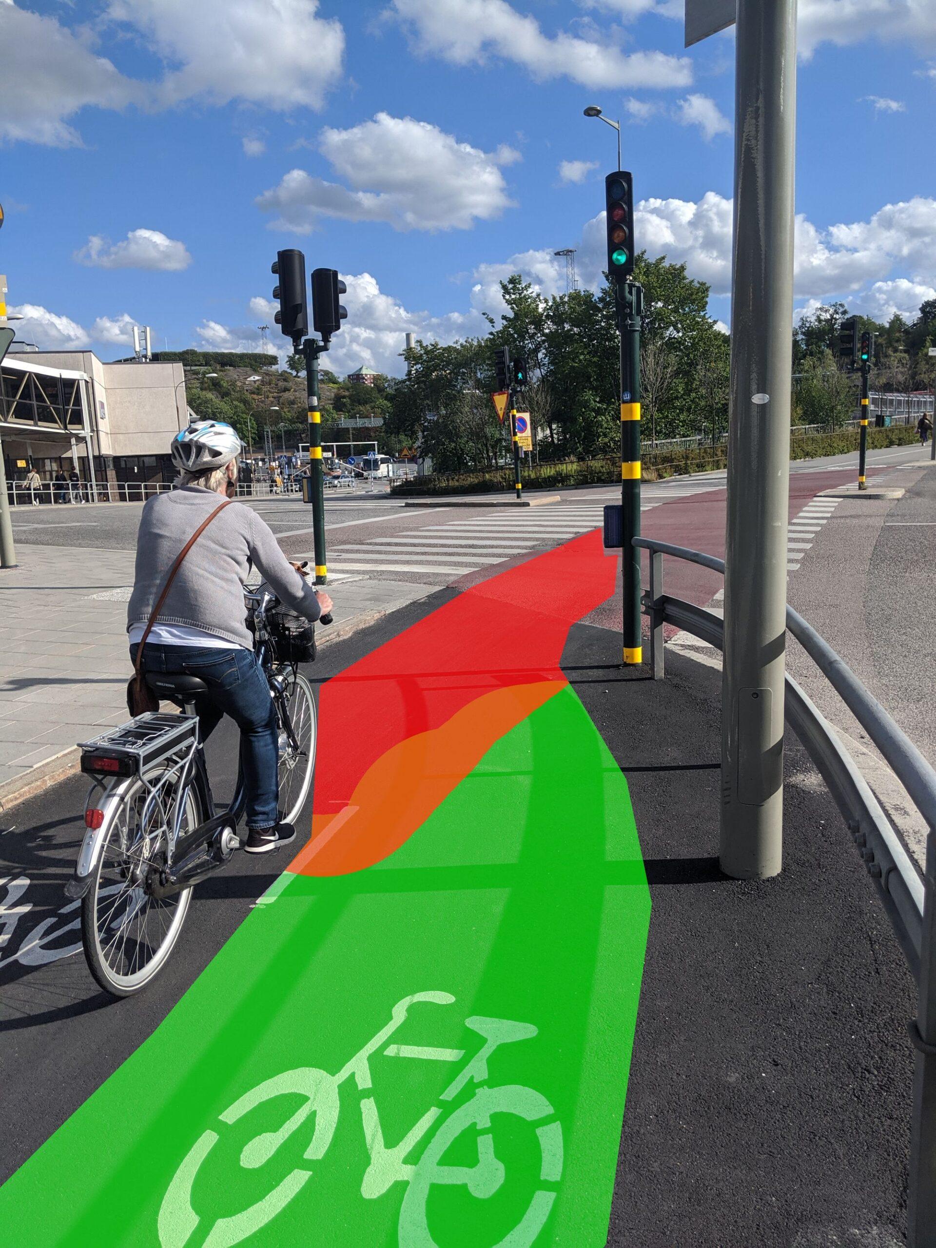 Det ställs höga krav på cyklister