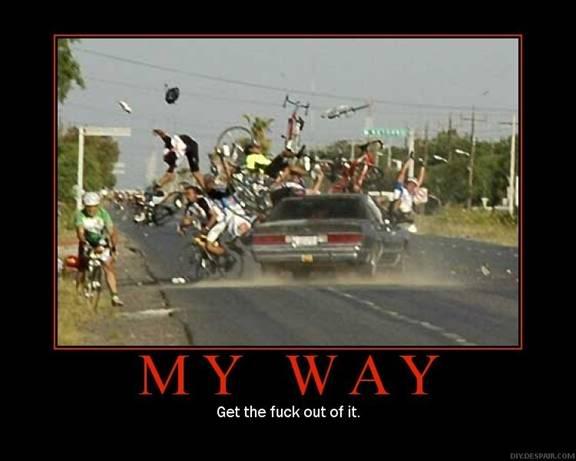 Varför är cyklister så lättkränkta?