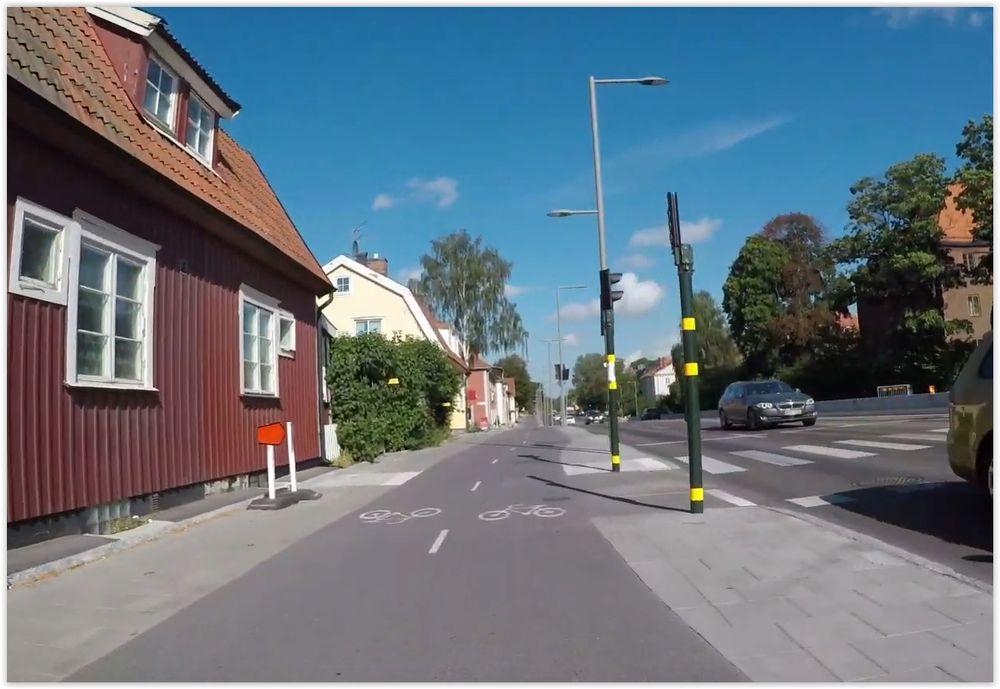 Bra cykelvägar gör det lättare att koncentrera sig på rätt saker