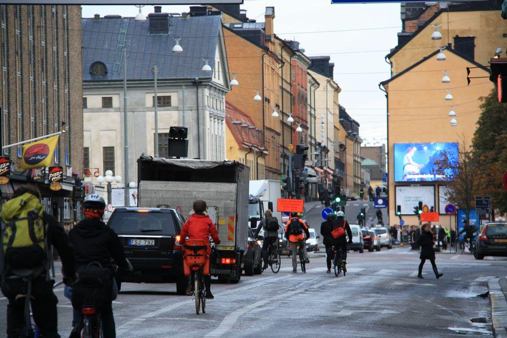 """Snart har Trafikverket definierat vad en """"cykelväg"""" är."""