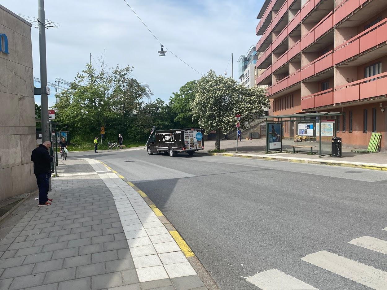 Kraften i en ensam cykelpolis.