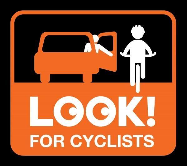 """""""Fånga cyklisterna med blicken, inte med dörren"""""""