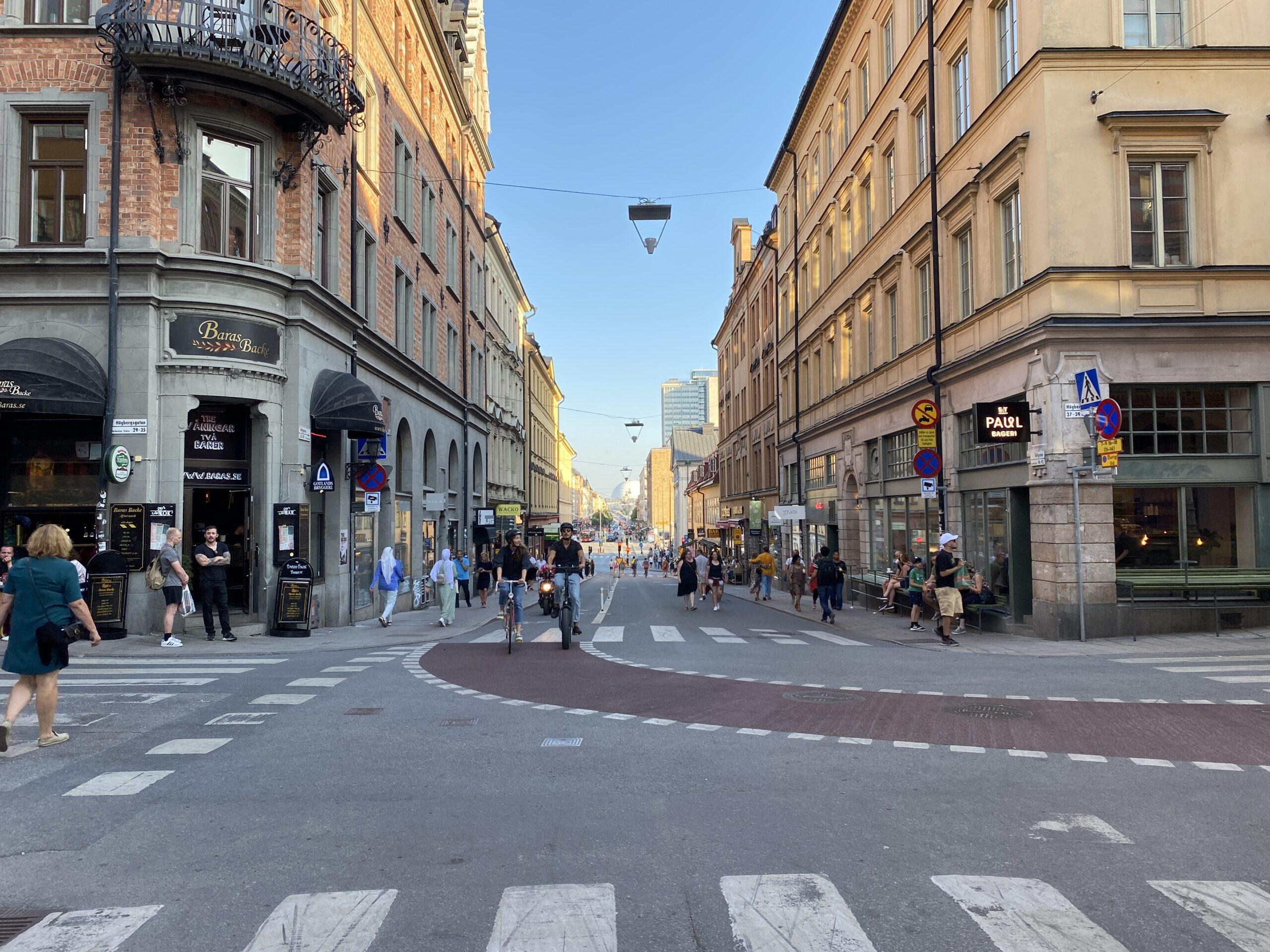 Nu är det lite bättre på Götgatan.