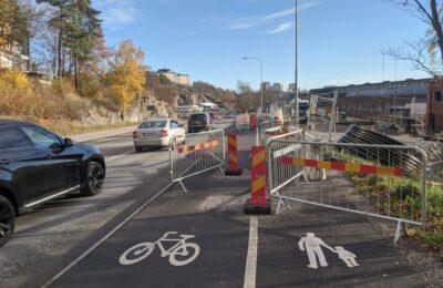 Trafiksäkerhet är alltid cyklistens ansvar