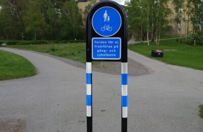 Skyltar gäller inte cyklister