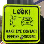 Den där viktiga ögonkontakten.